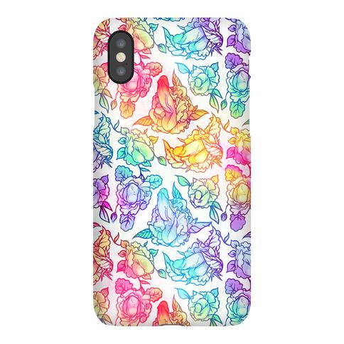 Floral Penis Rainbow phone case