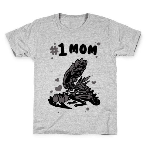 Alien Queen #1 Mom Kids T-Shirt