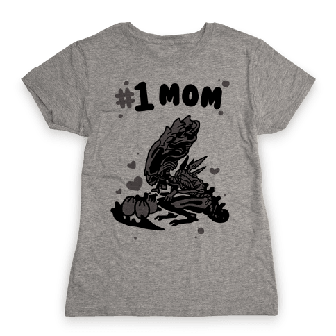 Alien Queen #1 Mom Womens T-Shirt
