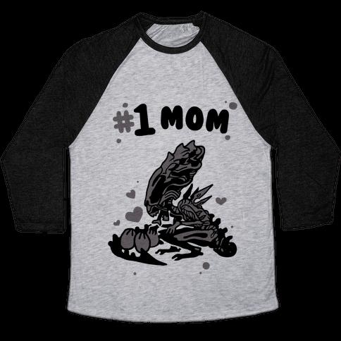 Alien Queen #1 Mom Baseball Tee