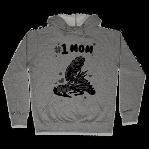 Alien Queen #1 Mom Hooded Sweatshirt