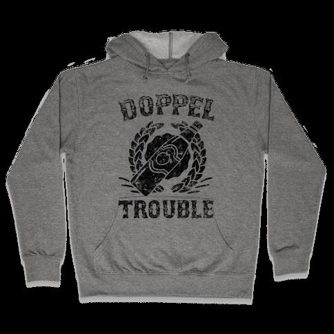Doppel Trouble Hooded Sweatshirt