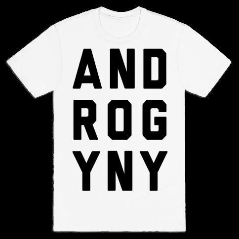 Androgyny Mens T-Shirt