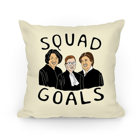 Squad Goals Pillow