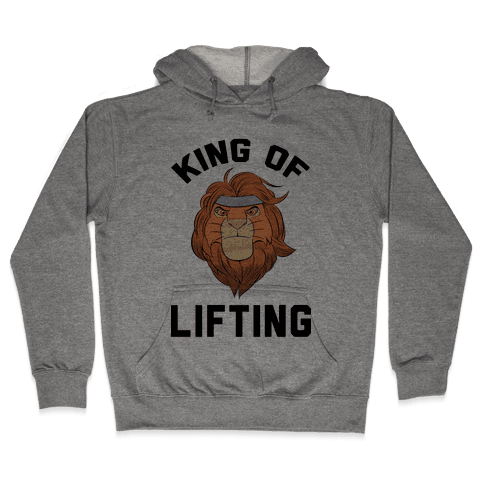 King Of Lifting Hooded Sweatshirt