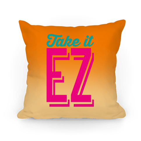 Take It EZ Pillow