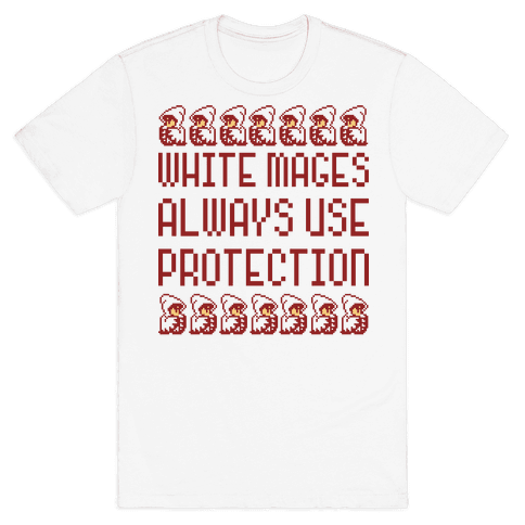 White Mages Mens T-Shirt
