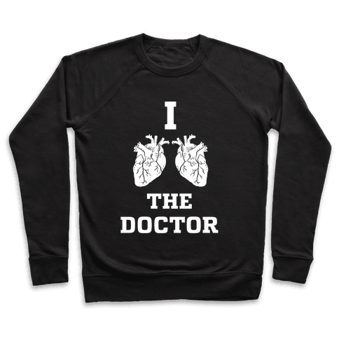 I Heart The Doctor Pullover