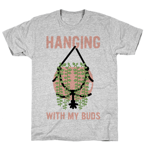 Hanging with My Buds Mens T-Shirt