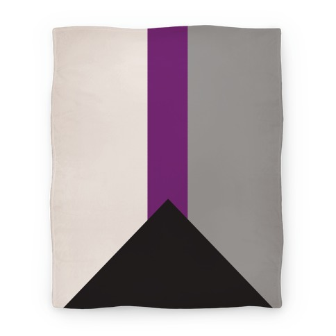 Demisexual Pride Flag Blanket