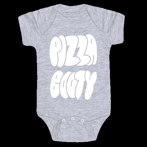 Pizza Booty Baby Onesy