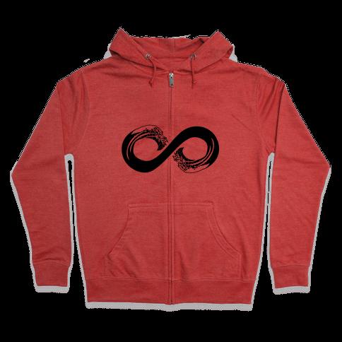 Ocean Infinity Zip Hoodie