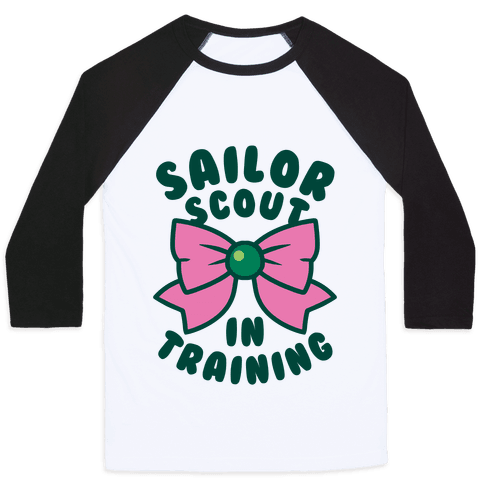 Sailor Scout In Training (Jupiter) Baseball Tee