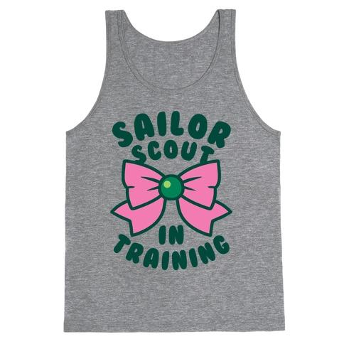 Sailor Scout In Training (Jupiter) Tank Top