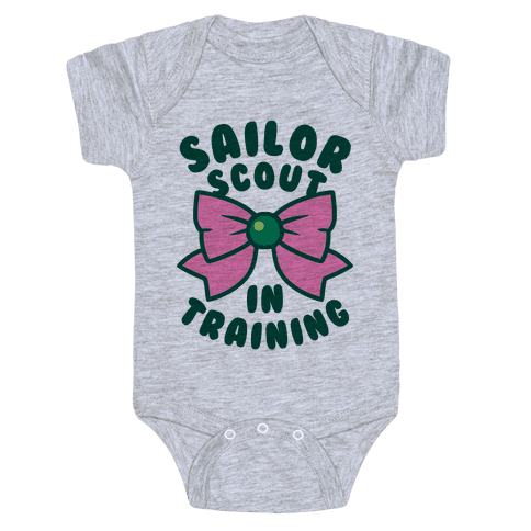 Sailor Scout In Training (Jupiter) Baby Onesy