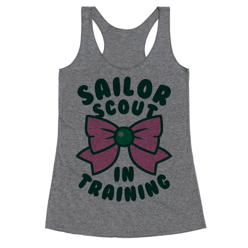 Sailor Scout In Training (Jupiter) Racerback Tank Top