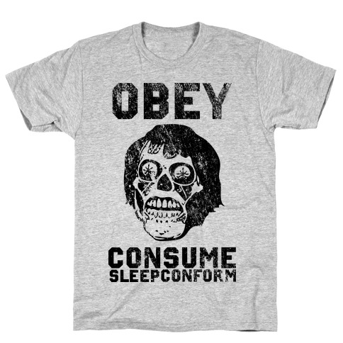 Obey Consume Sleep Conform (They Live) T-Shirt