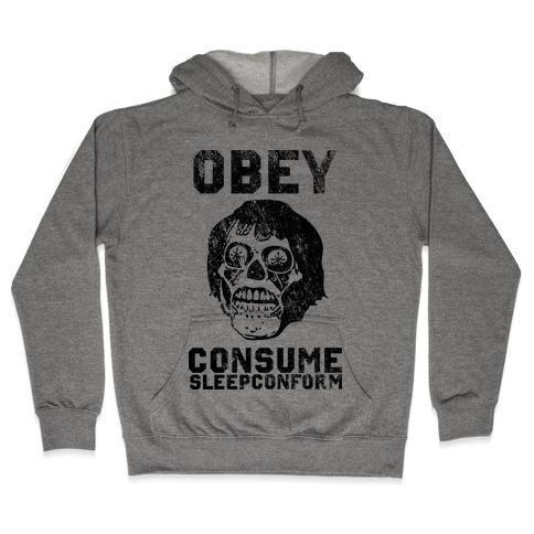 Obey Consume Sleep Conform (They Live) Hooded Sweatshirt