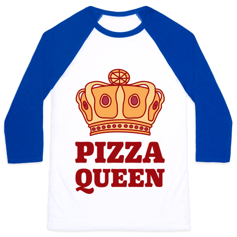 Pizza Queen Baseball Tee