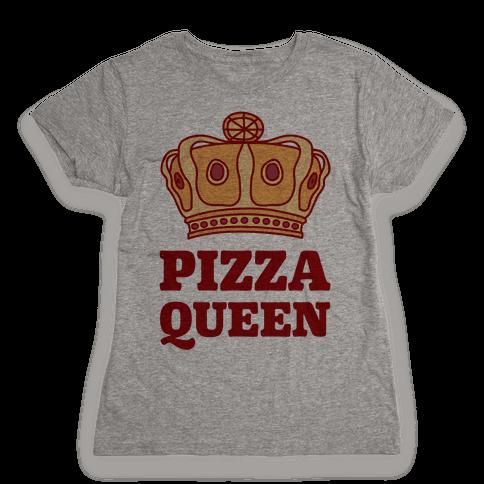 Pizza Queen Womens T-Shirt