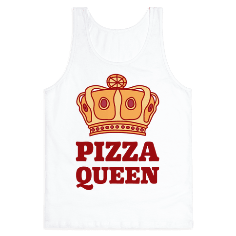 Pizza Queen Tank Top