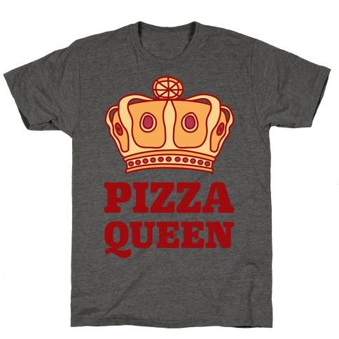 Pizza Queen Mens/Unisex T-Shirt