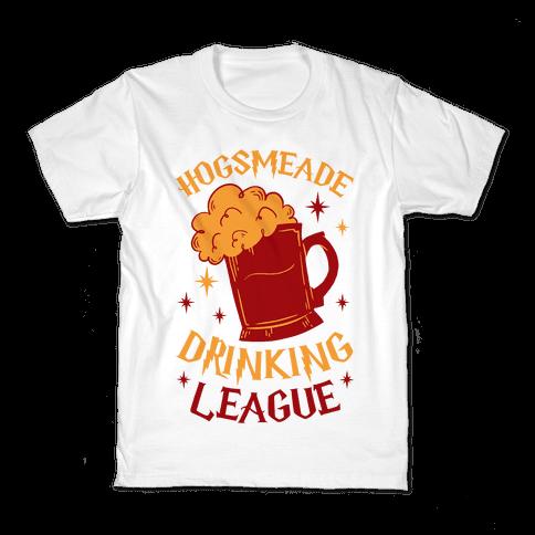 Hogsmeade Drinking League Kids T-Shirt