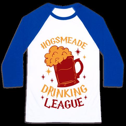 Hogsmeade Drinking League Baseball Tee