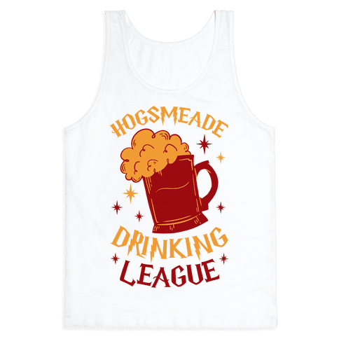 Hogsmeade Drinking League Tank Top