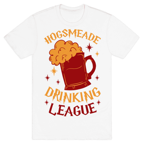 Hogsmeade Drinking League Mens T-Shirt