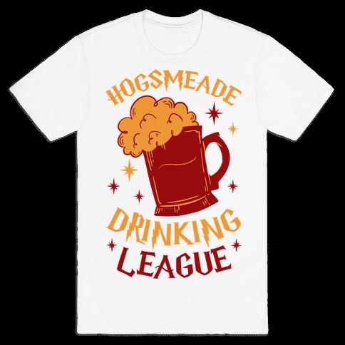 Hogsmeade Drinking League Mens T-Shirt