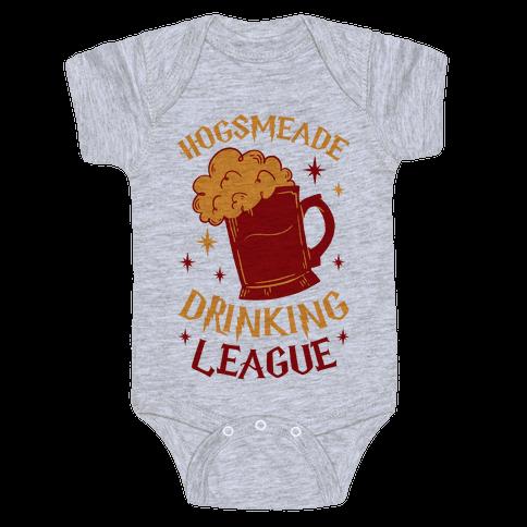 Hogsmeade Drinking League Baby Onesy