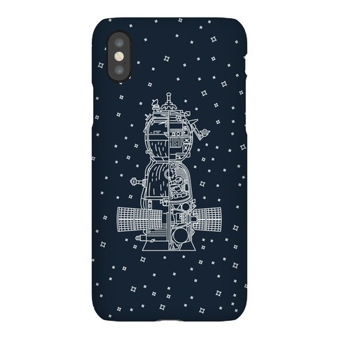 Soyuz-TMA Cross Section Phone Case