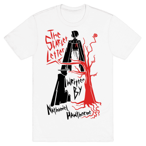 the scarlet letter - tshirt - human