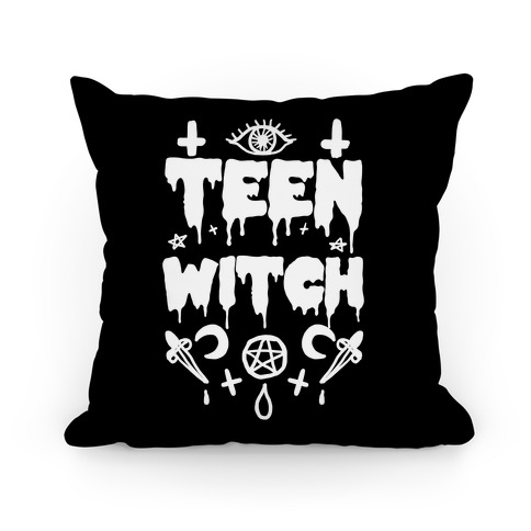 Teen Witch Pillow