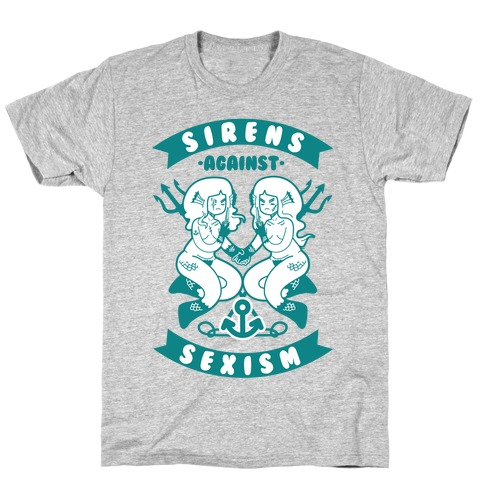 Sirens Against Sexism T-Shirt