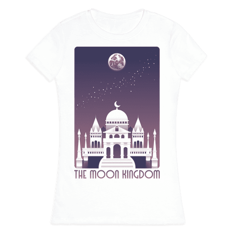The Moon Kingdom Womens T-Shirt
