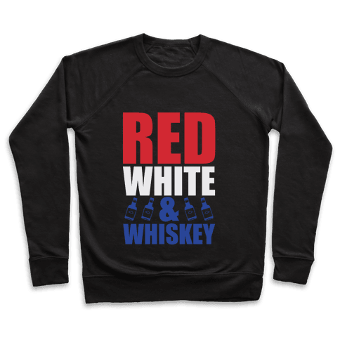 Red, White, & Whiskey Pullover