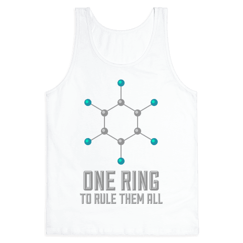 Lord of the Benzene Ring Tank Top