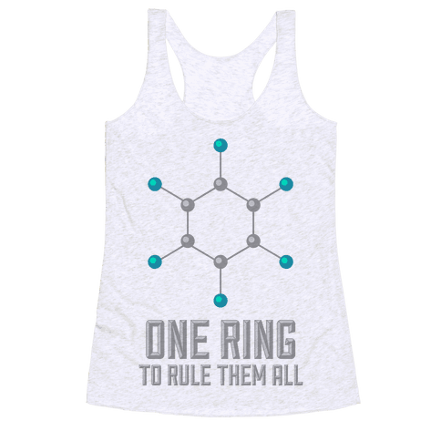 Lord of the Benzene Ring Racerback Tank Top