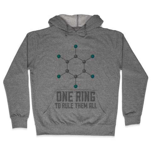 Lord of the Benzene Ring Hooded Sweatshirt
