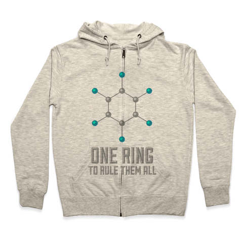 Lord of the Benzene Ring Zip Hoodie