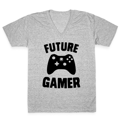 Future Gamer V-Neck Tee Shirt