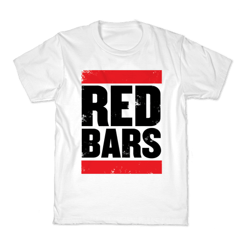 Red Bars Kids T-Shirt