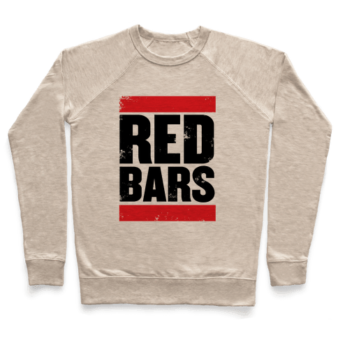 Red Bars Pullover