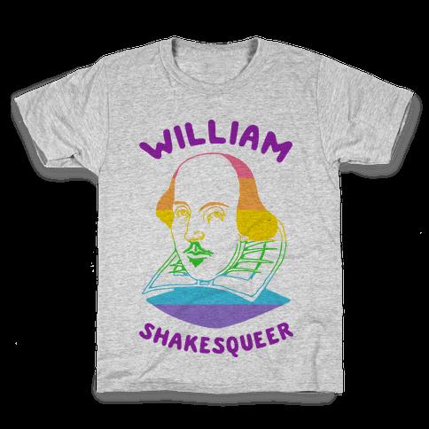 William ShakesQueer Kids T-Shirt