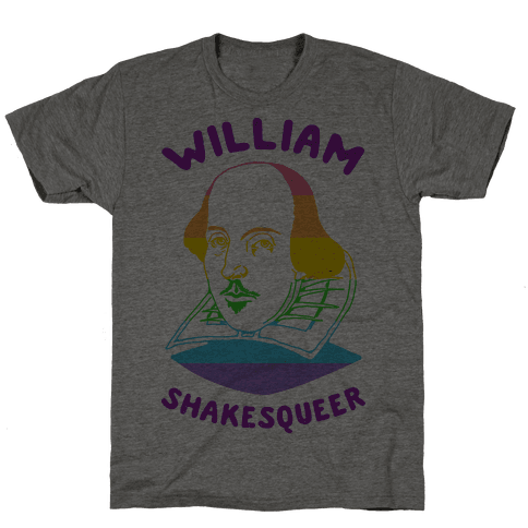 William ShakesQueer Mens T-Shirt
