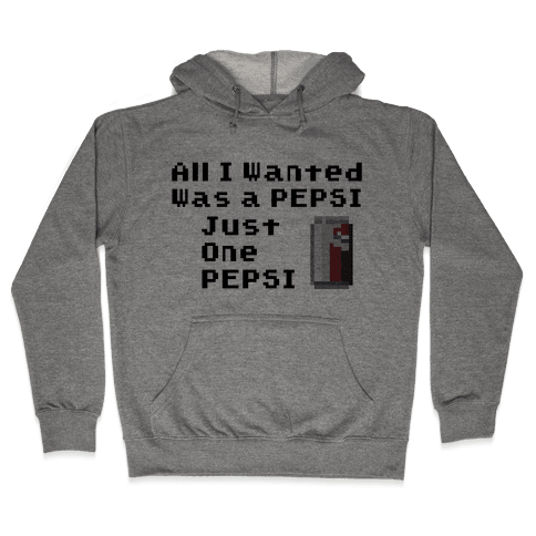 All I Wanted Hooded Sweatshirt