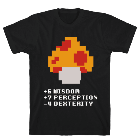 Item Found: Magic Mushroom Mens T-Shirt