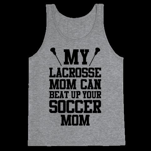 Lacrosse Mom Tank Top